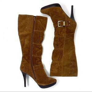 Michael Michael Kors Brown Suede Tall Boots